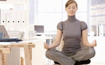 Yoga tijdens je werk kan echt